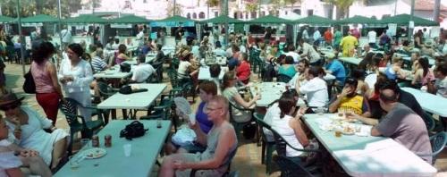 Feria Gastronómica de Almuñécar en el parque de El Majuelo