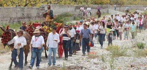 I Procesión San Isidro Labrador de Torrecuevas
