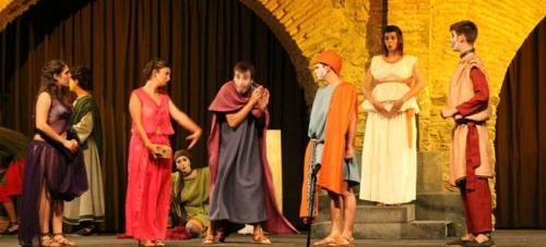 El V Festival de Teatro Grecolatino de Almuñécar finaliza este viernes
