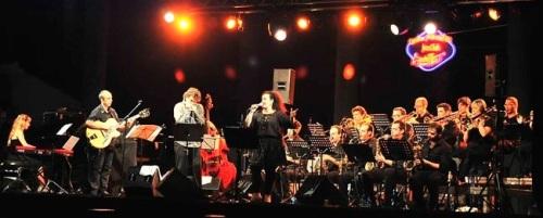 La Granada Big Band clausura el festival Jazz en la Costa de Almuñécar en su vigésimo quinto aniversario