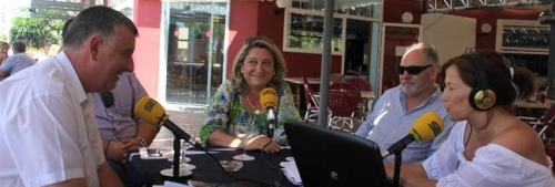 """Trinidad Herrera en el programa """"Hoy por hoy"""" de la Cadena Ser de Granada"""