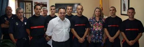 El cuerpo de bomberos de Almuñécar incrementa su plantilla