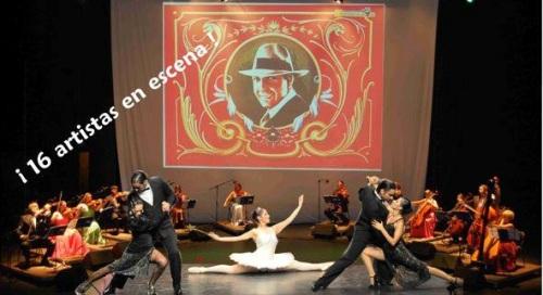 """La Orquesta Arcos de Buenos Aires presenta este sábado en Almuñécar el espectáculo de tango """"La Porteña"""""""