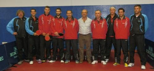 CD  Veteranos Tenis de Mesa de Almuñécar  presentó sus equipos