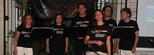 La ensamble Sietemasuno presenta su espectáculo músico-coral And the winners is en la Casa de la Cultura de Almuñécar
