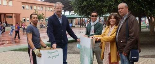 El reciclaje de papel vuelve a los centros de enseñanza sexitanos