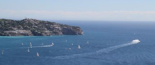 Regata de veleros en conmemoración del 450 aniversario del hundimiento de una armada española en la bahía de La Herradura