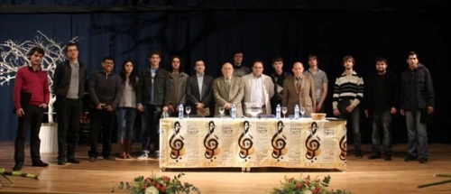 Jurado XXVIII Certamen Internacional de Guitarra Clásica Andrés Segovia