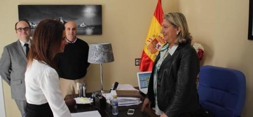Susana Muñoz Aguilar toma posesión como nueva Oficial Mayor del Ayuntamiento de Almuñécar.