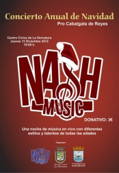 Concierto de Navidad de Nash Music en La Herradura