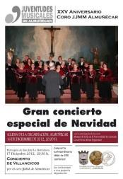 El Coro de Juventudes Musicales dará su concierto de Navidad este domingo en Almuñécar