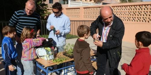 El programa municipal de concienciación medioambiental llega al Colegio La Noria