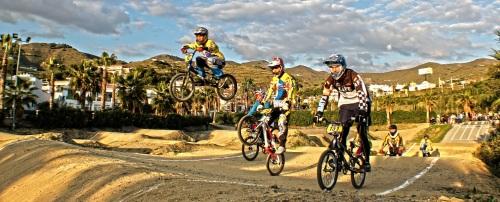 El sábado se disputó la Carrera Provincial BMX Almuñécar