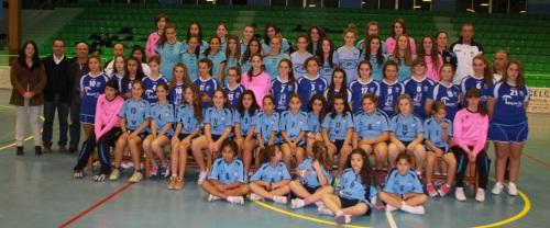 Gala de presentación de equipos del Club de Balonmano Femenino