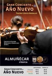 Gran Concierto de Año Nuevo a cargo del Teatro Lírico Andaluz