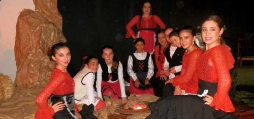 La Escuela de Baile de María Gómez La Canastera ofreció un gran espectáculo flamenco navideño