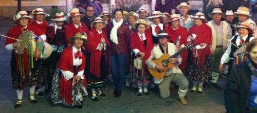 La Pastoral de La Herradura alegró la Navidad por la calles de Almuñécar