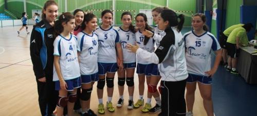 Cuatro victorias y un empate para los equipos del Balonmano femenino Almuñécar