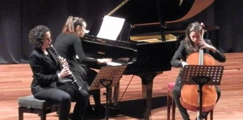El Trío Hipatia ofreció un concierto extraordinario en Almuñécar