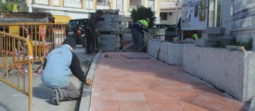 Mejora el acceso peatonal a los  barrios de La Cañada y El Espinar de La Herradura