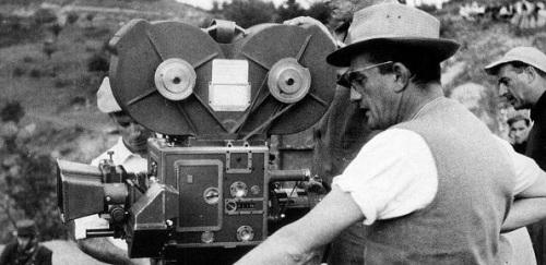 Rodaje película Muerte en Venecia, de L. Visconti
