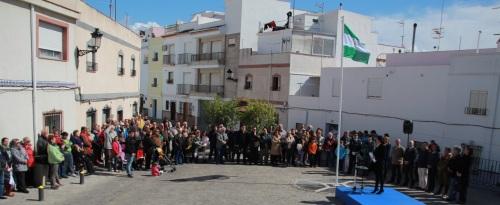 Almuñécar celebró el Día de Andalucía en el barrio del Castillo de San Miguel