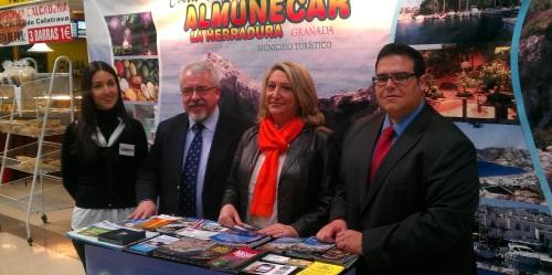 Almuñécar se promociona en Ciudad Real para la captación de turismo de proximidad al destino