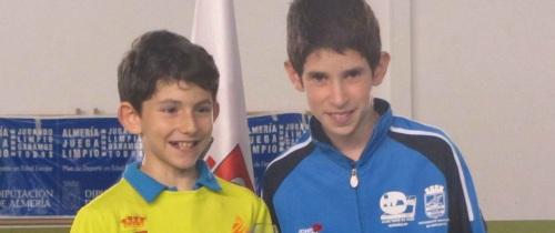Adrián Antequera, subcampeón de España de tenis de mesa por equipos