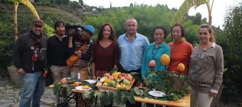 Agentes de turismo agrícola extranjeros y nacionales visitan Almuñécar