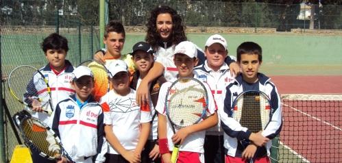 Alevines del Club Tenis Costa Tropical se imponen por 5 - 2 al equipo de Albox