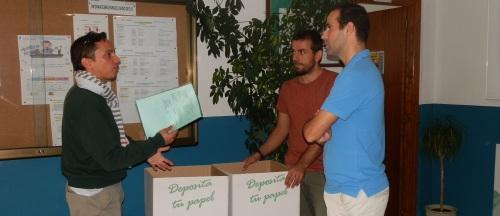 Centros escolares y municipales incrementan el reciclado de papel