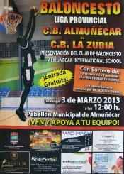 El CB Almuñécar cedebra este domingo la 'Fiesta del Baloncesto'