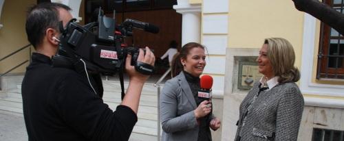 España TV se interesa por la Semana Santa de Almuñécar