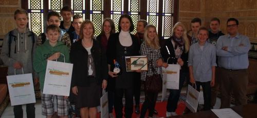 Estudiantes alemanes  de  Fürstenfelbruck participan en un intercambio con el  Almuñécar Internacional School