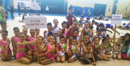 Tres podios para las gimnastas sexitanas en el torneo Ciudad de Loja