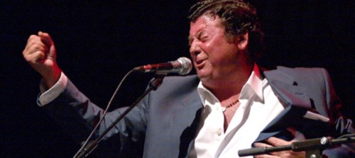 """Actuación en Almuñécar del cantaor jerezano Luis Fernández Soto, """"El Zambo"""""""