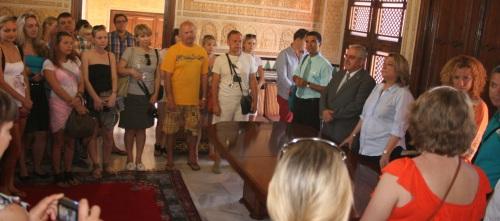 Agentes de viajes rusos conocerán los atractivos turísticos de Almuñécar