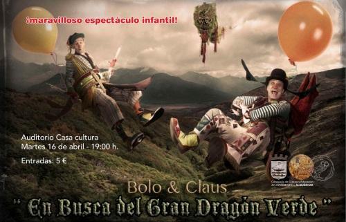 Bolo & Claus presenta en Almuñécar En Busca del Gran Dragón Verde