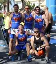 El equipo Pikaeras Elite Almuñécar participó en Triatlón de Benalmádena II