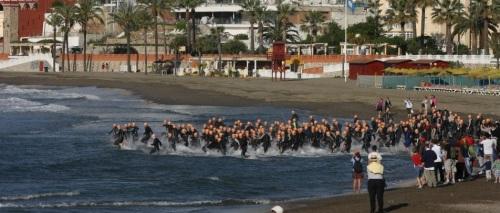 El equipo Pikaeras Elite Almuñécar participó en Triatlón de Benalmádena