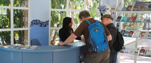 El punto de información del Altillo atendió a 24 mil visitantes el primer año