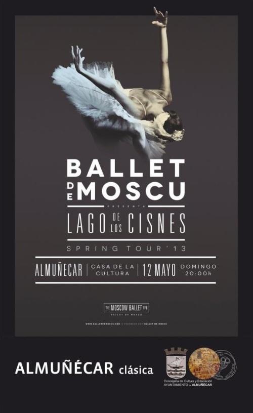 En mayo el Ballet de Moscú representará El Lago de los Cisnes II