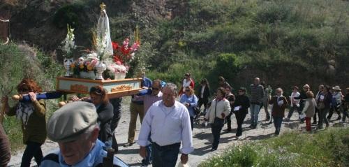 Este domingo se celebra la XIII Romería del Pago de Guerra de La Herradura