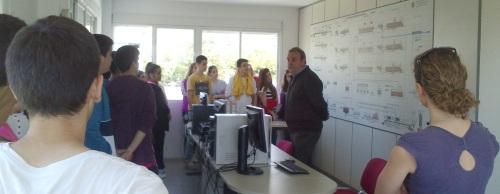 Estudiantes del IES Puerta del Mar visitaron la EDAR de Almuñécar