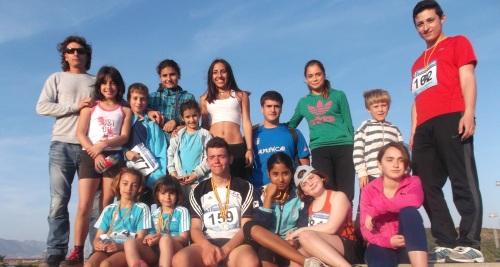 La Escuela de Atletismo Sexitano sigue triunfando en el circuito malagueño