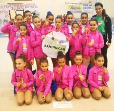 La Escuela de Gimnasia Rítmica de Almuñécar consigue un nuevo éxito en Íllora
