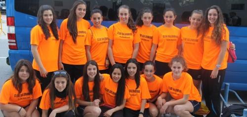 Las chicas Cadetes del BM Almuñécar disputan desde hoy el Campeonato de Andalucía en el Campo de Gibraltar