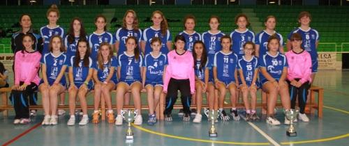 Las Infantiles de balonmano jugarán la final del Campeonato de Andalucía