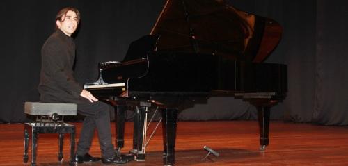 Pablo Ruiz Segura ofreció anoche un gran recital en la Casa de la Cultura