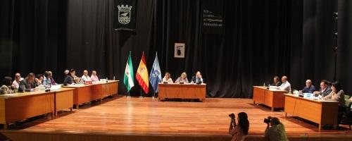 Pleno del Ayuntamiento de Almuñécar